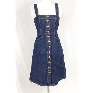 Madewell Denim Overall Dress in Matilda Wash